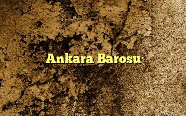 Ankara Barosu1