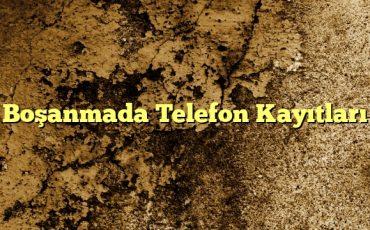 Boşanmada Telefon Kayıtları